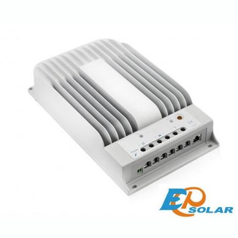 Regolatore Fotovoltaico MPPT con crepuscolare EP Solar