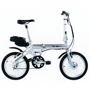 Bici Elettrica eBike argento