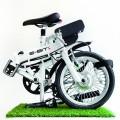 Bici Elettrica eBike piegata