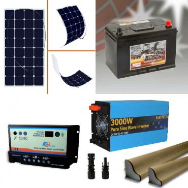 Kit Solare Fotovoltaico nautica barca