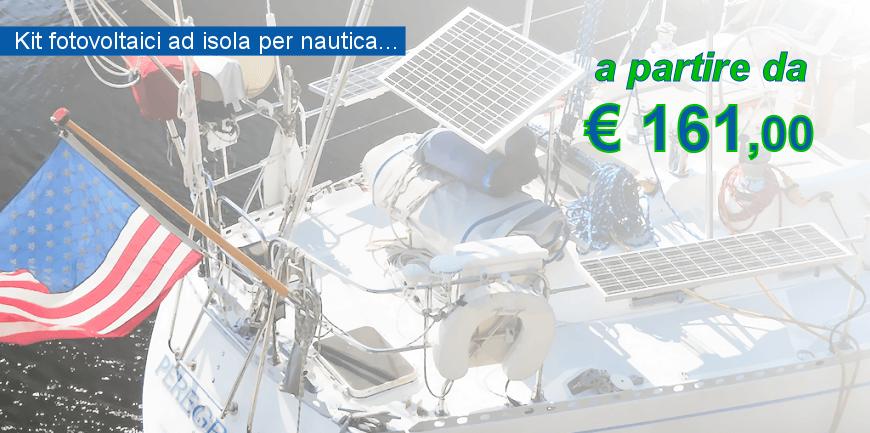 Kit Fotovoltaico per imbarcazioni e nautica